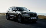 Jaguar F-Pace Chequered Flag edition - front