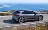 Jaguar I-Pace 2021 facelift official images - tracking side