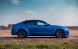 Jaguar XE SV Project 8 Touring 2019 UK first drive review - static side