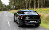 98 Kia EV6 prototype drive 2021 rear