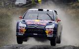 98 Kimi raikonnen rallying car