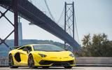 Lamborghini Aventador SVJ 2018 first drive review static front