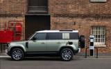 Land Rover Defender P400e official reveal - side