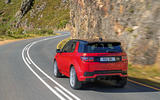 Land Rover Discovery Sport 2019 official reveal - hero rear