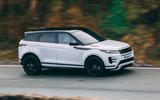 Land Rover Range Rover Evoque 2019 first ride review - hero side