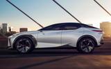 98 Lexus LF Z concept official images side