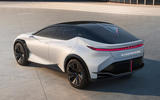 98 lexus lf z concept official images static rear