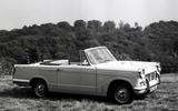 My life in 12 cars - Mike Flewitt - Triumph Herald convertible