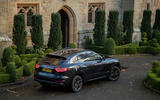 Maserati Levante GranSport V6 2018 first drive - static rear