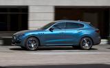 98 Maserati Levante Hybrid 2021 official images hero side