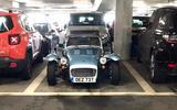 98 Matt Prior Caterham to Scotland column car park