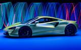 98 McLaren Artura 2021 Autocar images studio side edit