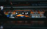 98 McLaren Racing sustainability feature car
