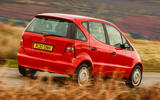 98 Mercedes A Class W168 used car buying guide hero rear