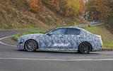 Mercedes-AMG C53 2021 spy images - tracking side