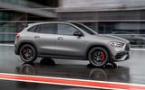 Mercedes-AMG GLA 45 S 2020 official press images - hero side