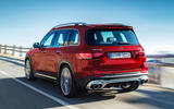 Mercedes-AMG GLB 35 2019 official press images - hero rear