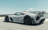 Mercedes-AMG One official camouflaged tracking images - rear
