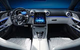 98 Mercedes AMG SL 2022 official interior