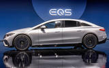 98 Mercedes EQS official reveal images side
