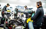 Mercedes F1 factory