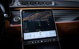 Mercedes-Benz S Class interior official images - infotainment