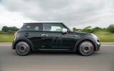 98 Mini JCW anniversary official images tracking side