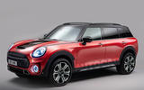 98 Mini SUV render by Autocar 2021 red