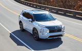 98 Mitsubishi Outlander 2021 official images hero aerial