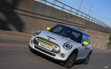 a month with a Mini Electric - tracking front