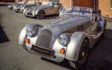 Morgan Plus Four 70th anniversary - static