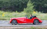 Morgan Plus 8 road test rewind - hero side