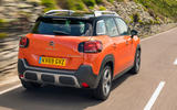 98 nearly new guide citroen C3 aircross tracking rear