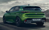 98 Peugeot 308 2021 official reveal images hero rear