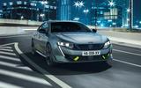 Peugeot 508 PSE official images - cornering front