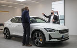 Polestar Space London opening official images - interview