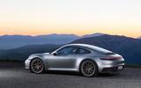 2019 Porsche 911 official reveal - press still side