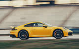 2019 Porsche 911 Carrera S track drive - hero side