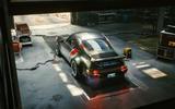 Porsche 911 Cyberpunk 2077 tie-in - hero rear