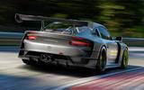 98 Porsche 911 GT2RSMR 25 official images tracking rear
