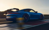 98 Porsche 911 GT3 2021 official images track rear