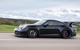 Porsche 911 GT3 2021 passenger ride - hero side