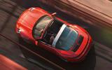 Porsche 911 Targa 992 official images - tracking roof