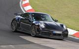98 Porsche 911 Turbo hybrid spies 1