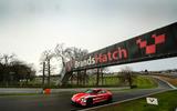 98 Porsche Autocar EV record breakers 2021 brands hatch
