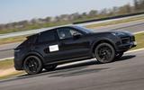 98 Porsche Cayene Turbo Coupe prototype 2022 hero side