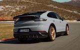 98 Porsche Cayenne GT 2021 official reveal hero rear
