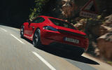 Porsche 718 Cayman GTS 2020 official press images - tracking rear