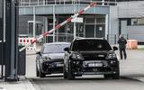 98 Porsche Macan EV official test images road