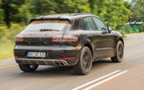 Porsche Macan prototype 2018 hero rear